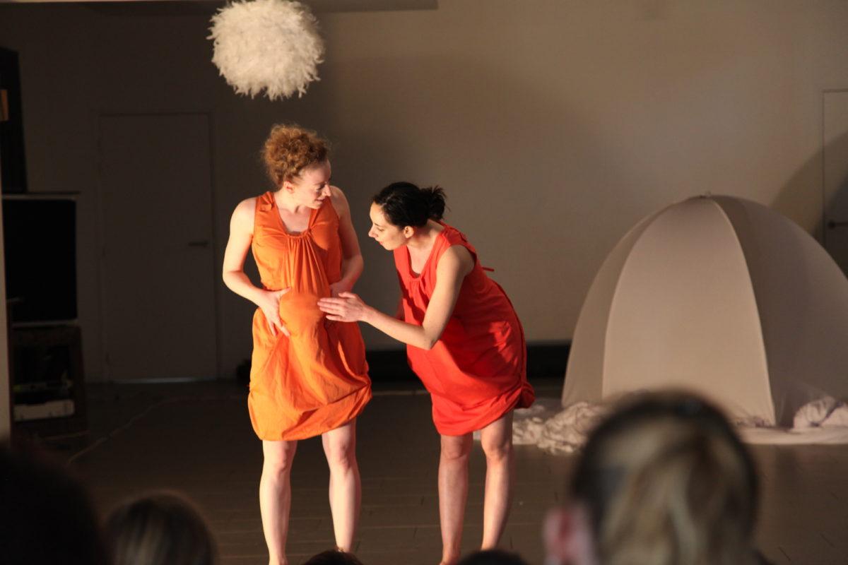 Stages artistiques, répétitions — Lizières