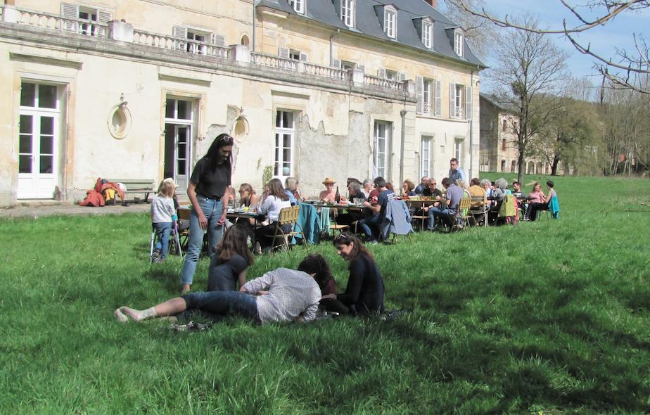 Pique-nique de fin de résidence – Celsian Langlois — Lizières