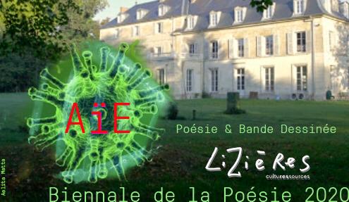 Biennale de la poésie #2 : AÏE poésie et bande dessinée — sometimeStudio